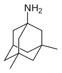 Структура мемантина