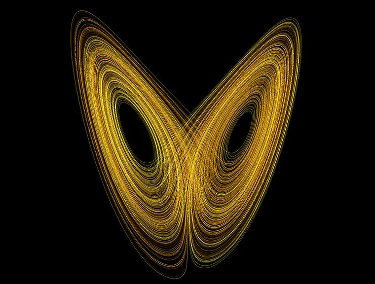 Динамика аттрактора Лоренца