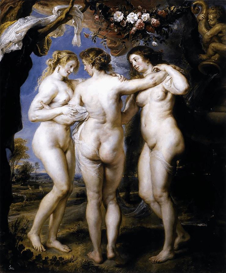 «Три грации» Рубенса
