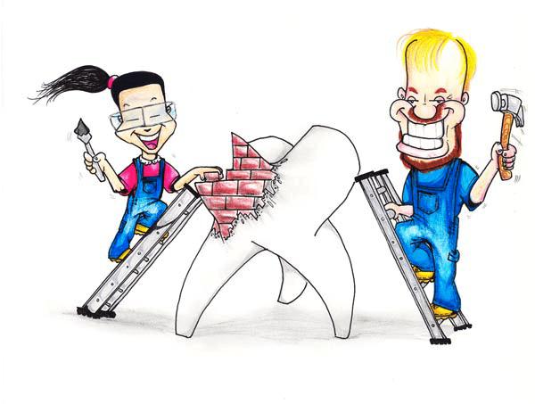 Что нам стоит зуб построить?