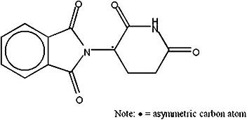 Структура талидомида