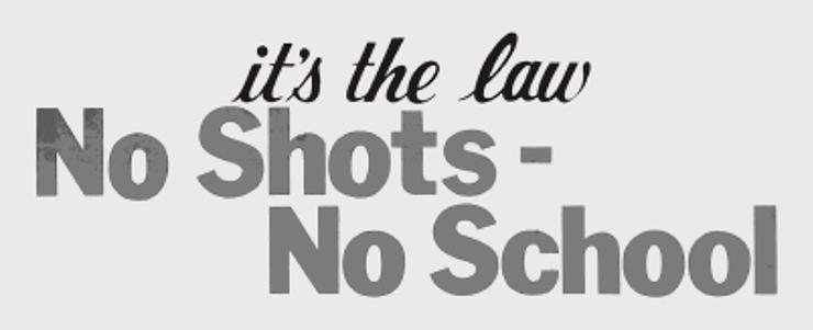 «Нет прививки — нет школы! Это закон»