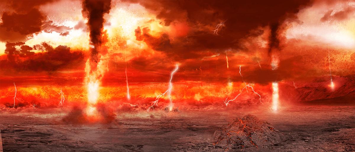 Последствия столкновения Земли с гипотетической Тейей