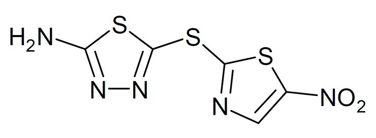 Структурная формула галицина
