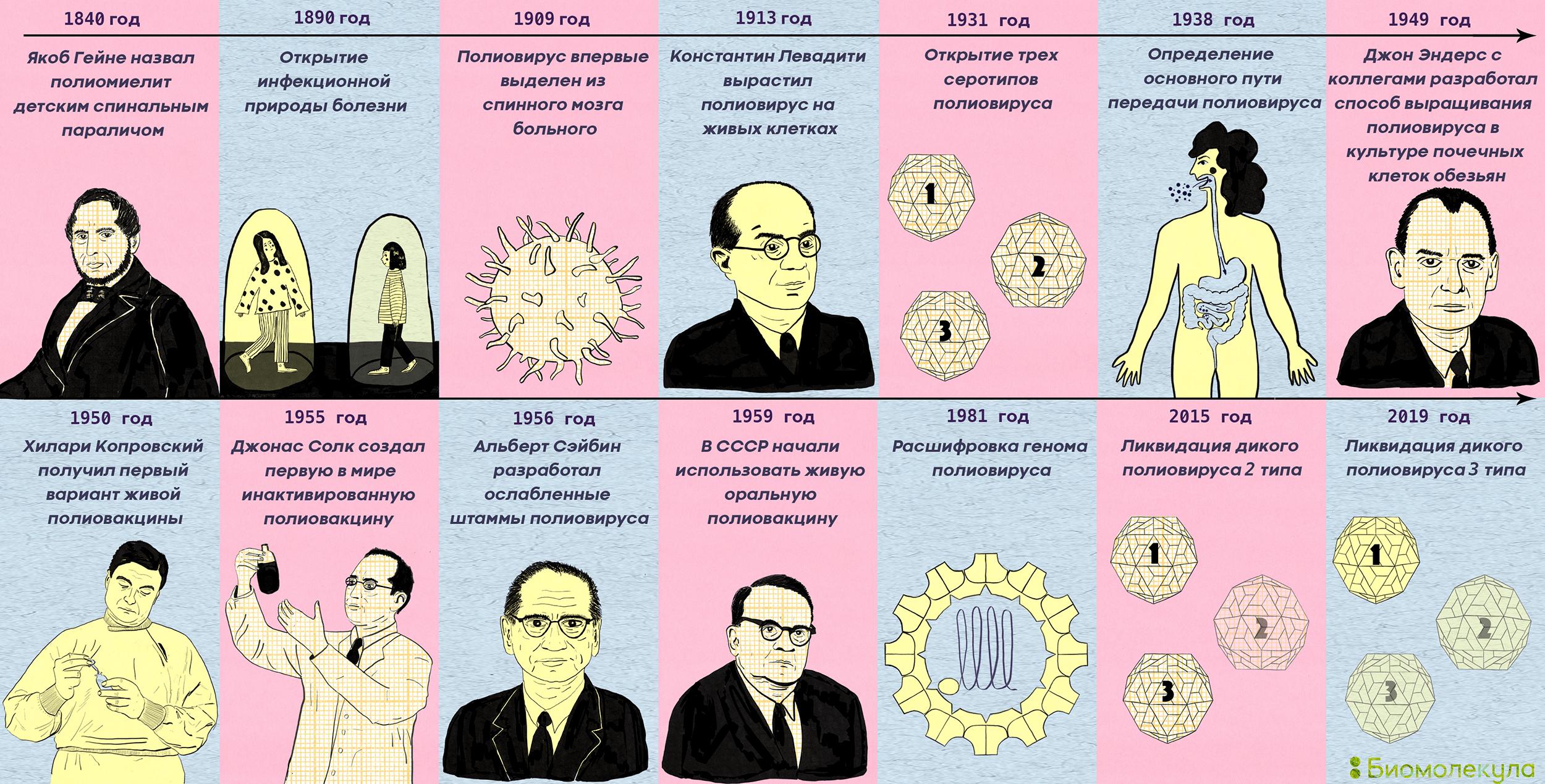 История изучения полиомиелита