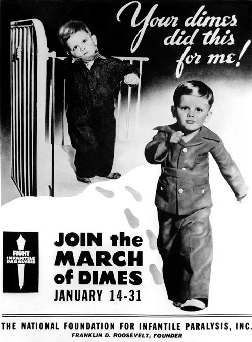 Постер организации March of Dimes