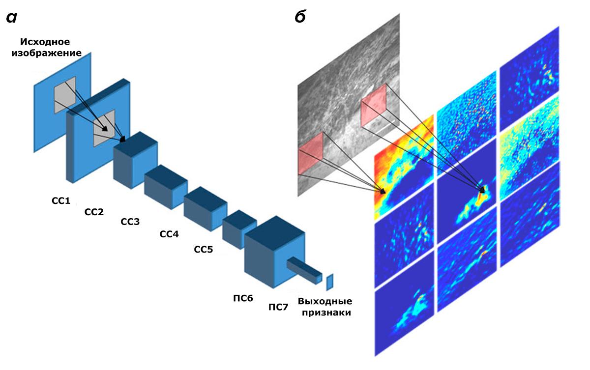 Архитектура глубокой сверточной нейронной сети